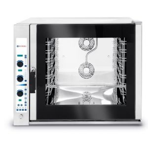 Electric combi steamer 6X Gn 2/1 - Electronic control