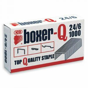 Zszywki 24/6 BOXER op.1000 sztuk