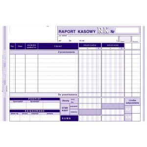 Raport kasowy A5 Michalczyk 411-3