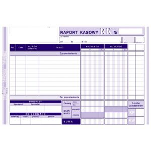 Cash report A5 Michalczyk 411-3