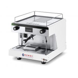 Ekspres do kawy kolbowy HENDI Top Line by Wega 1 grupowy - biały - kod 208915