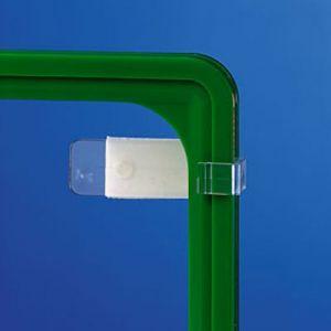 Uchwyt z taśmą klejącą do mocowania ramek na ścianach i szybach, ramki A3-A6
