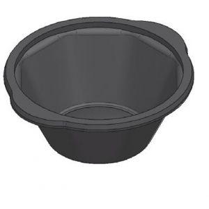 Miska pod zgrzew 9450, kolor czarny, pojemność 450 ml, cena za opakowanie 50 szt.