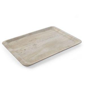 Taca do serwowania na nadrukiem drewna 370x530 - kod 508930