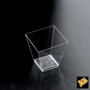 FINGERFOOD - pucharek 95 ml transparentny PS op. 25 sztuk
