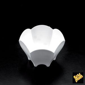 FINGERFOOD - pucharek PS TULIPAN 70ml biały op. 25 sztuk