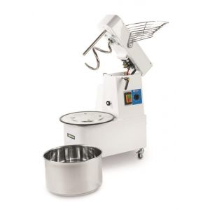 Spiral mixer 32l with removable bowl and 2 speeds - code 222928