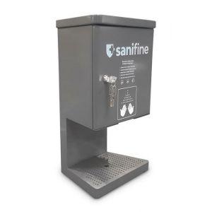 Stacja dezynfekcji rąk nablatowa z automatycznym dozownikiem