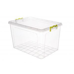 Pojemniki do żywności wielorazowego użytku 35L, przezroczysty STRONGBOX, cena za 1 sztukę