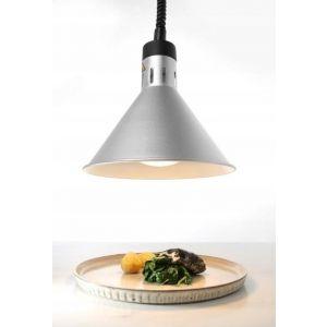 silver pendant food warming lamp - code 273869