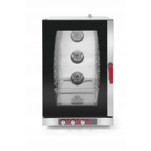 Combi-steam oven 10 GN1/1 or 10 x 600x400 electric manual control