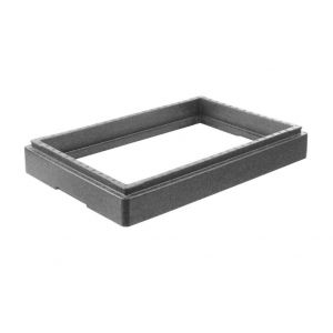 Raising frame for container GN1/1 600x400x(H)180 mm