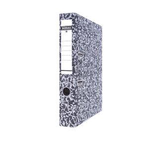 Segregator DONAU Archiv-S z szyną, kartonowy, A4/50mm, szary