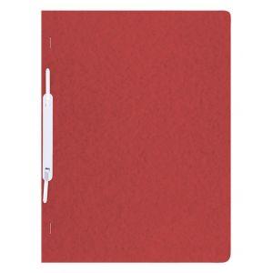 Skoroszyt DONAU, preszpan, A4, twardy, 390gsm, czerwony