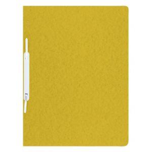 Skoroszyt DONAU, preszpan, A4, twardy, 390gsm, żółty