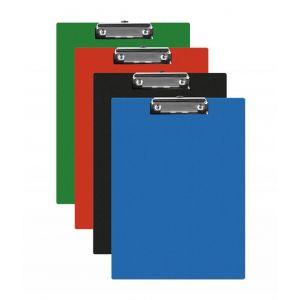 Clipboard Q-CONNECT deska, PVC, A5, mix kolorów