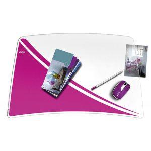 Podkładka na biurko CEPPro Gloss, różowa