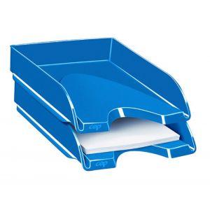 Szufladka na biurko CEPPro Gloss, polistyren, niebieska