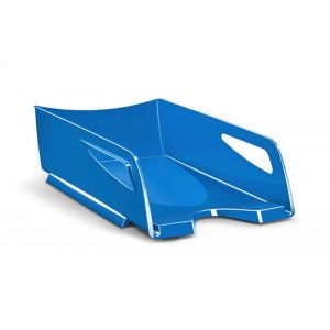Szufladka na biurko CEPPro Gloss Maxi, polistyren, niebieska
