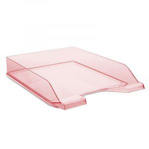 Szufladka na biurko DONAU, polistyren, A4, standard, czerwona