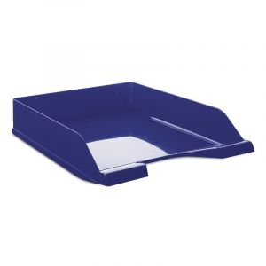 Szufladka na biurko DONAU, polistyren/PP, A4, standard, niebieska