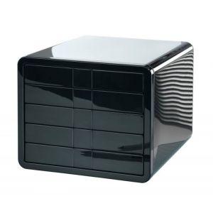 Zestaw 5 szufladek HAN iBox, ABS, A4, czarny