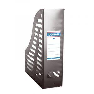 Pojemnik ażurowy na dokumenty DONAU, PP, A4, składany, dymny