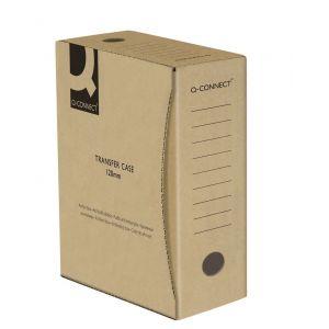 Pudło archiwizacyjne Q-CONNECT, karton, A4/120mm, szare