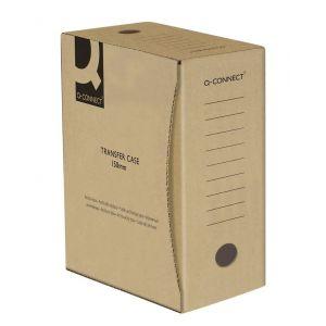 Pudło archiwizacyjne Q-CONNECT, karton, A4/150mm, szare
