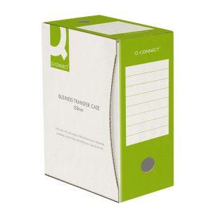Pudło archiwizacyjne Q-CONNECT, karton, A4/150mm, zielone