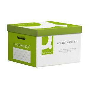 Pudło archiwizacyjne wzmocnione Q-CONNECT Power, karton, zbiorcze, zielone