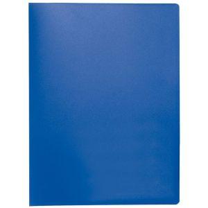 Teczka ofertowa Q-CONNECT, PP, A4, 380mikr., 20 koszulek, niebieska