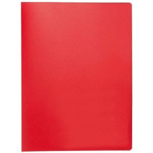 Teczka ofertowa Q-CONNECT, PP, A4, 380mikr., 20 koszulek, czerwona