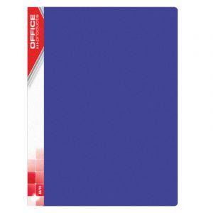 Teczka ofertowa OFFICE PRODUCTS, PP, A4, 620mikr., 30 koszulek, niebieska