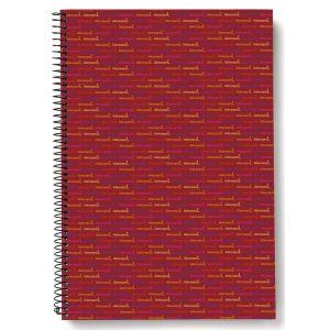 Kołonotatnik LIDERPAPEL Multi, A4, w kratkę, 140 kart., 70gsm, perforacja