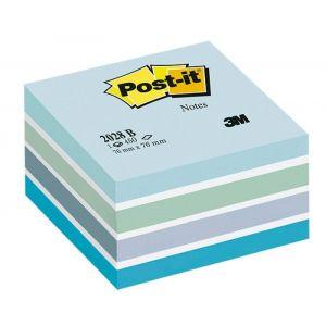 Kostka samoprzylepna POST-IT® (2028-B), 76x76mm, 1x450 kart., niebieska