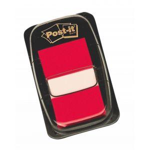 Zakładki indeksujące POST-IT® (680-1), PP, 25x43mm, 50 kart., czerwone