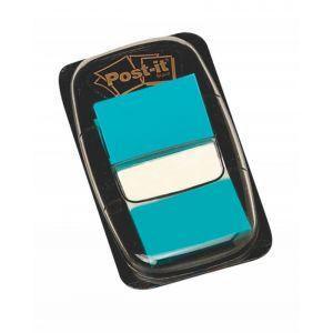 Zakładki indeksujące POST-IT® (680-23), PP, 25x43mm, 50 kart., jaskrawoniebieskie