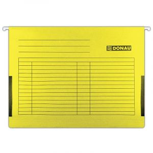 Clipboard folder with sides DONAU yellow A4 7420905-11