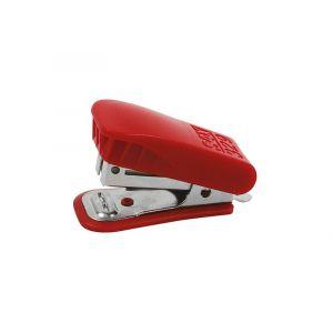 Zszywacz SAX329, zszywa do 20 kartek, czerwony, zszywki GRATIS