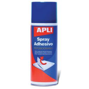 Klej w sprayu APLI, do repozycjonowania, 400ml
