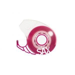 Dyspenser do taśm SAX Design, na blistrze, różowy, taśma GRATIS