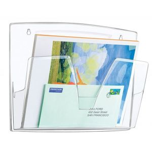 Zestaw naścienny CEP ReCaption, 3 półki, przeźroczysty
