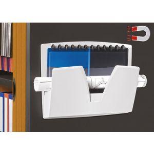 Półka naścienna CEP ReCaption, magnetyczna, 361x86x270mm, jasnoszara