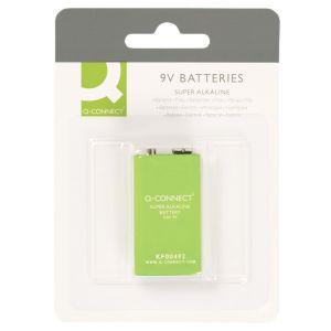 Baterie super-alkaliczne Q-CONNECT E-Block, LR61,9V