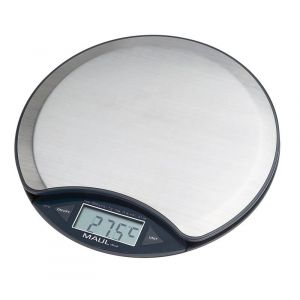 Waga elektroniczna MAUL MaulDisc, 5kg, srebrna