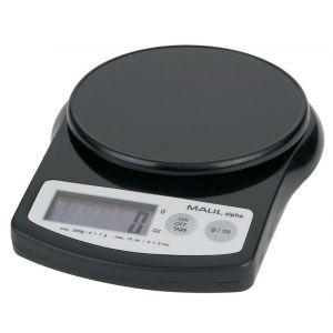 Waga elektroniczna MAUL MaulAlpha, 2kg, czarna