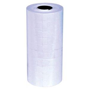 Etykiety do metkownic Q-CONNECT, 21x12mm, jednorzędowe, białe