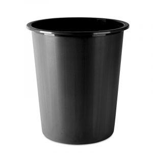 Kosz na śmieci DONAU, pełny, 14l, czarny