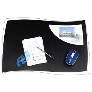 Podkładka na biurko CEP Ellypse, 63x42cm, czarna